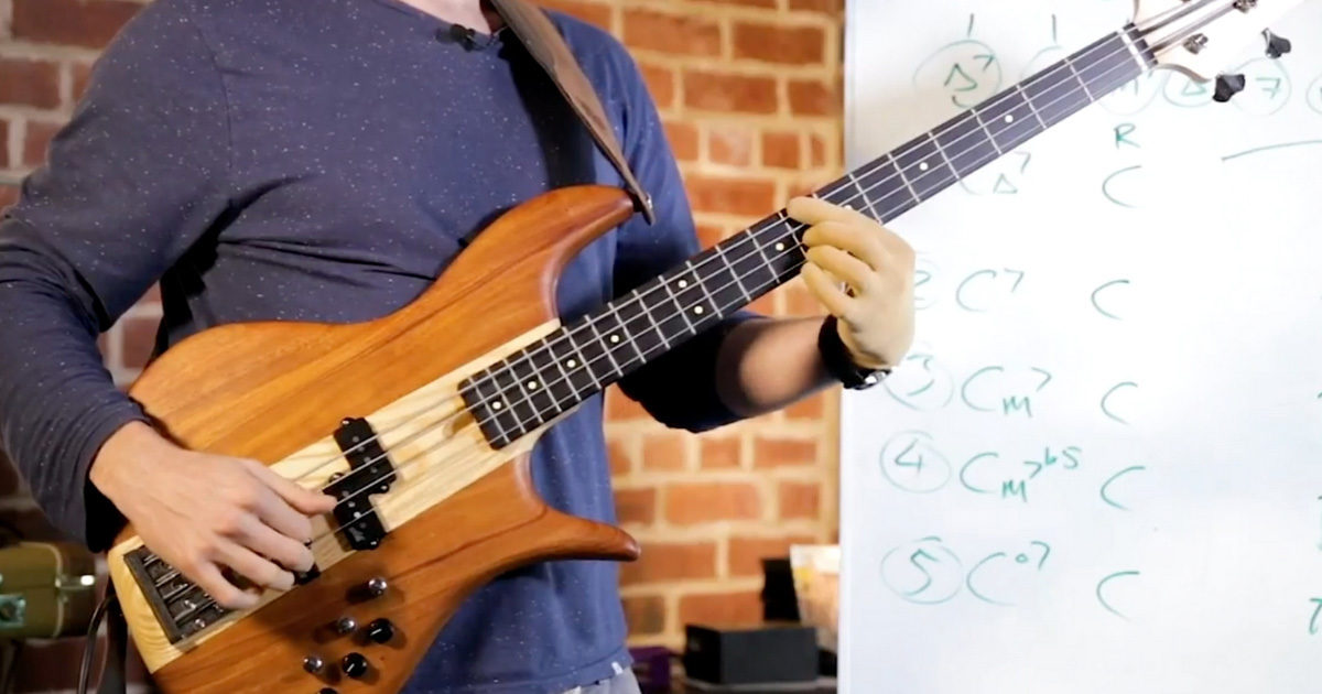 All The Chords Youll Ever Need On Bass In Less Than 15 Minutes