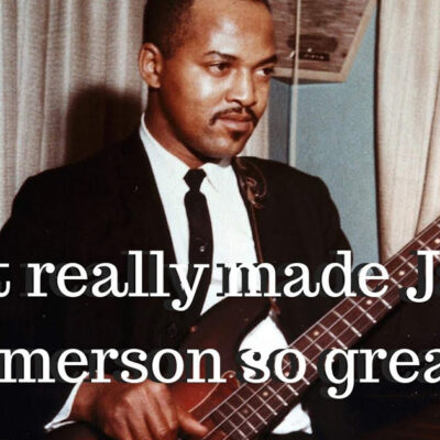What really made James Jamerson so great? | Scotts Bass Lessons