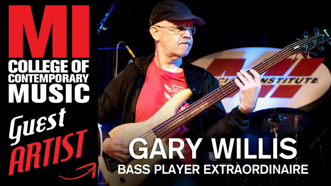 Gary Willis Joins Scott's Bass Lessons! | Scotts Bass Lessons