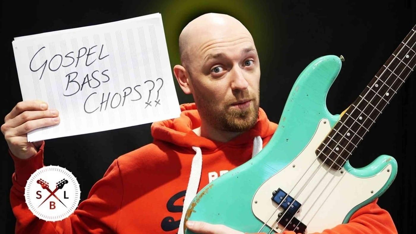 How to play epic gospel bass fills    | Scotts Bass Lessons
