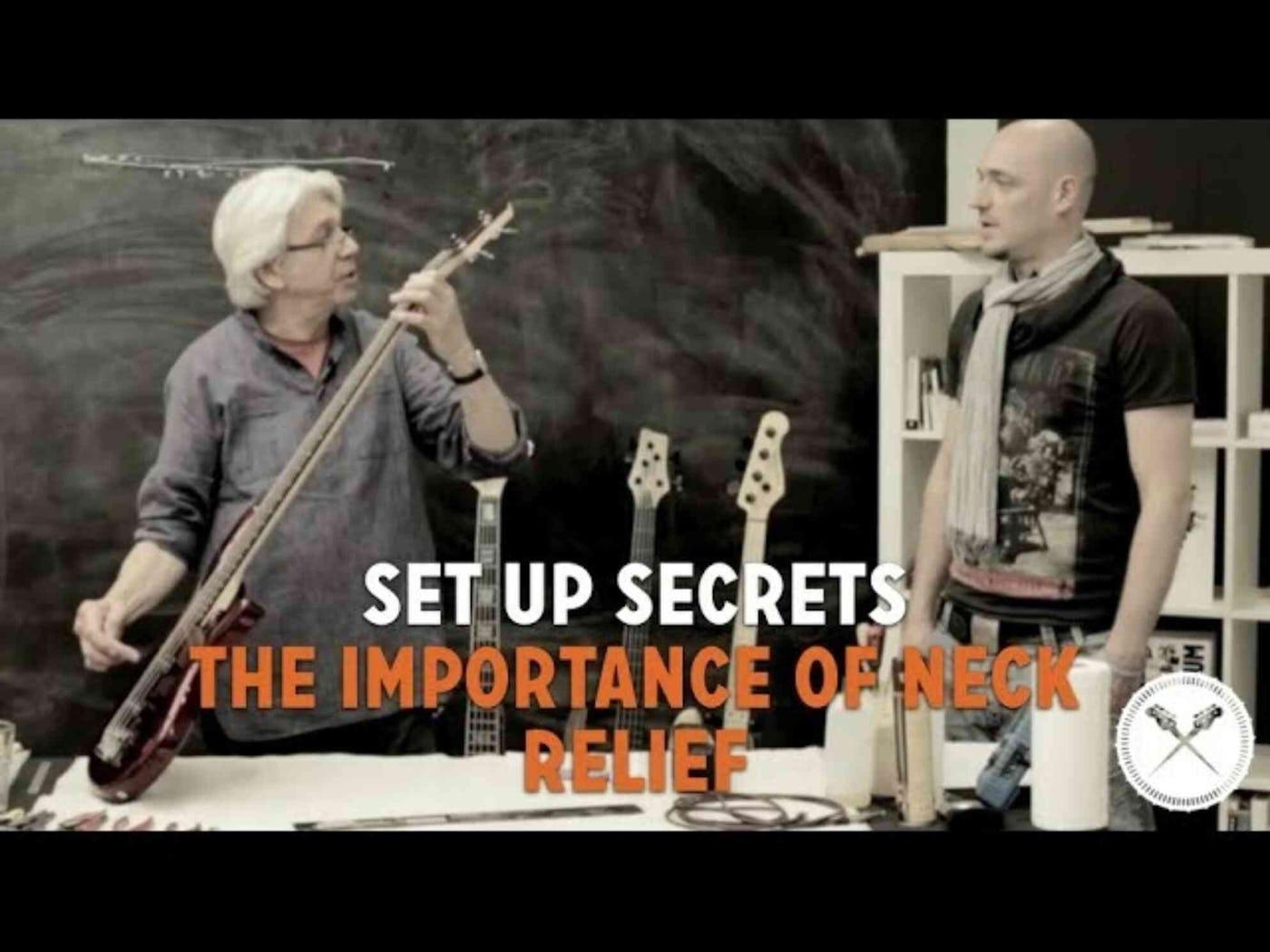 set up secrets the importance of neck relief scotts bass lessons. Black Bedroom Furniture Sets. Home Design Ideas